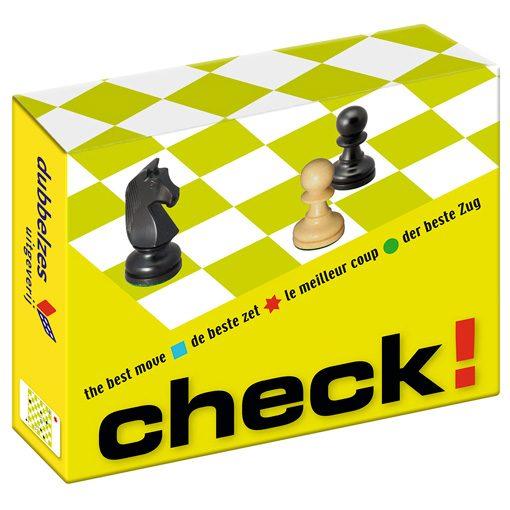 96 schaakopgaven: Check de beste zet